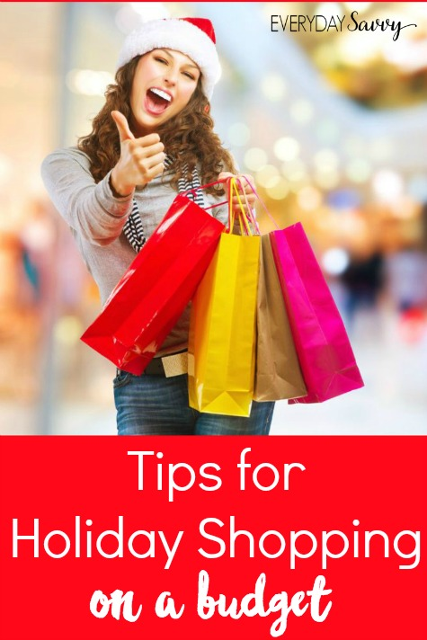 It is that time again where people bust their budget and end up with credit card debt from holiday shopping . Don't be one of those people instead follow these tips and tricks for holiday shopping on a budget.