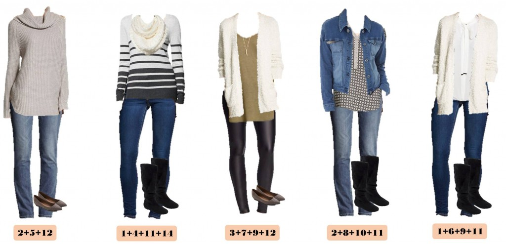 12.7 Capsule Wardrobe - Target Winter Edition 11-15