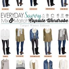 12.7 Capsule Wardrobe - Target Winter Edition VERTICAL