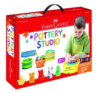 Faber-Castell Do Art Pottery Studio, Pottery Wheel Kit for Kid