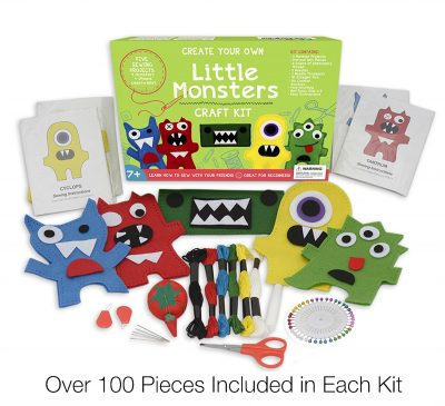 little-monsters-beginners-sewing-kit-gift-idea-for-girls-6-7-8