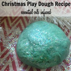 calming homemade playdough