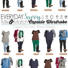 1.11 Capsule Wardrobe - Target Plus Size Edition VERTICAL