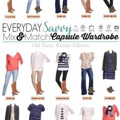 1.25 Capsule Wardrobe - Old Navy Winter Edition VERTICAL