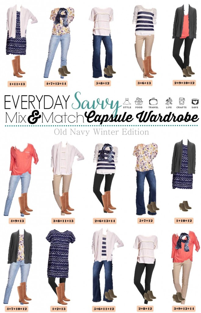 capsule wardrobe   everyday savvy