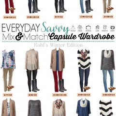 1.4 Capsule Wardrobe - Kohl's Winter Edition VERTICAL