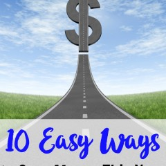 10 easy ways to save money this year