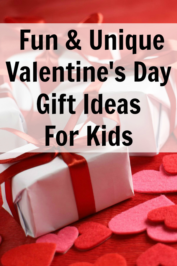 Check out these fun and unique Valentine's Day gift ideas for kids. We end up with alot of candy and so I find that I don't want to give them even more candy, but I would like to get them a little something special to celebrate Valentine's Day. We have found several cute, non-candy, Valentine's day gift ideas for kids on this list.