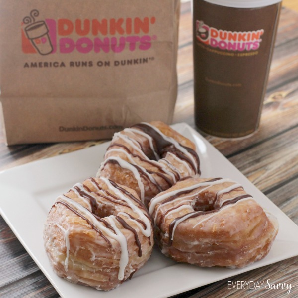 Have you tried the new Dunkin' Donuts Fudge Croissant Donuts yet? We tried them and loved them. See pictures of this tasty treat here.