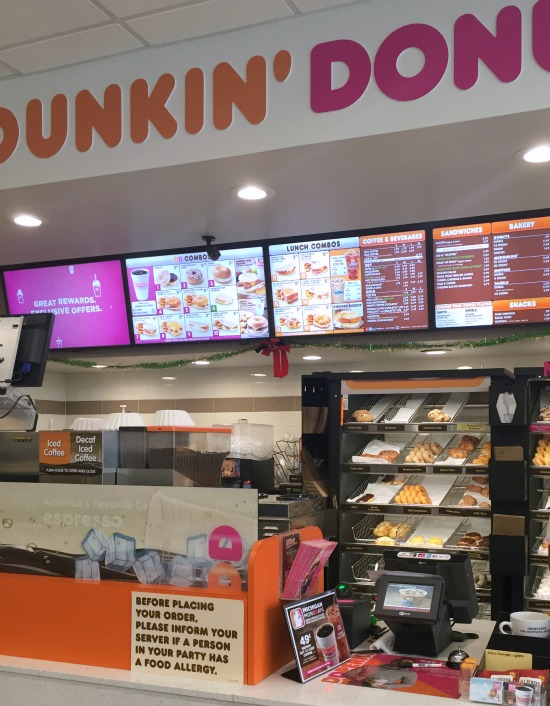 Have you tried the new Dunkin' Donuts Fudge Croissant Donuts yet? We tried them and loved them. See pictures of this tasty treat here. You can grab breakfast all day long at Dunkin' Donuts.