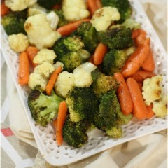 easy oven roasted veggies recipe