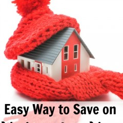 Easy way to save on heating your home