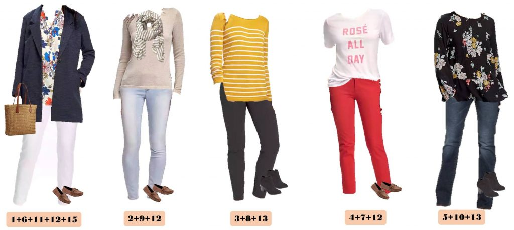 Here is a fun and affordable Old Navy Winter to Spring Capsule Wardrobe. These mix and match outfits will work great all winter and transition to spring