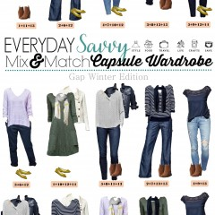 2.1 Capsule Wardrobe - Gap Winter Edition VERTICAL