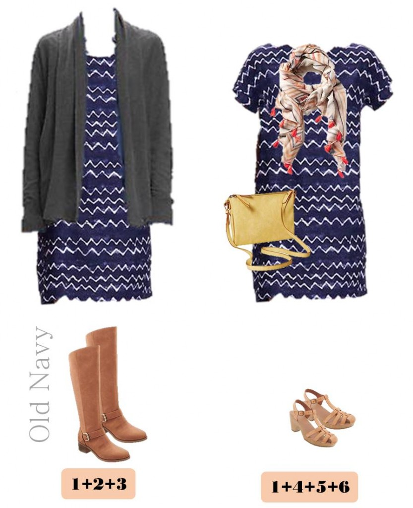 2.15 Capsule Wardrobe - Transition Winter to Spring Old Navy