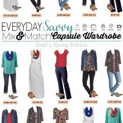 2.24 Capsule Wardrobe - Kohls Spring Edition VERTICAL