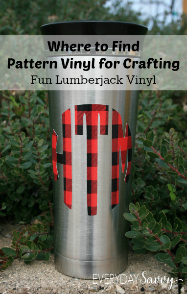 Find Pattern Vinyl For Crafting With Silhouette Cricut And More   Where To  Find The Best