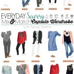 3.14 Capsule Wardrobe - Loft Spring Styles VERTICAL