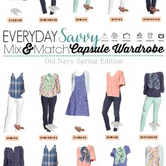 3.21 Capsule Wardrobe - Old Navy Spring Edition VERTICAL