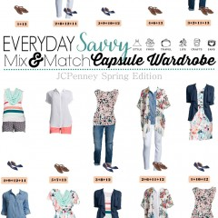 3.28 Capsule Wardrobe - JCPenney Summer Edition VERTICAL