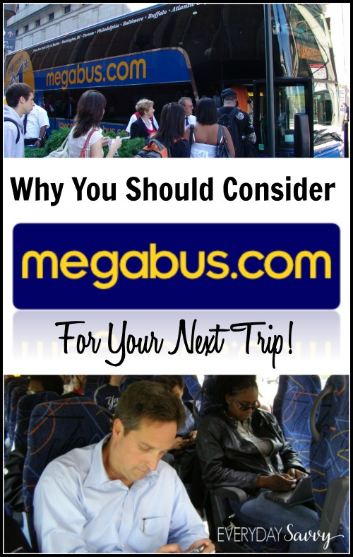 Have you checked out Megbus yet? You can use it on your next trip to get there safely and affordably. They have free wi-fi and a great safety record too.