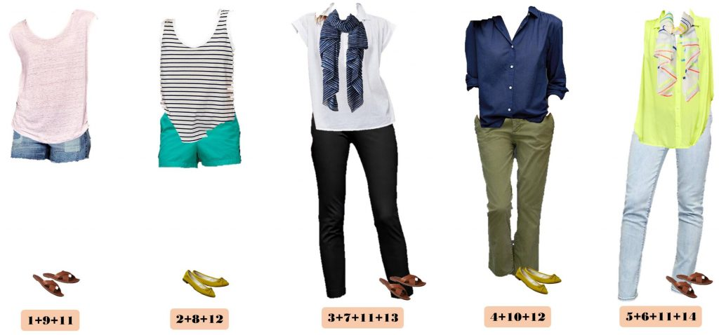 Casual Summer Outfit Ideas Gap Summer Capsule Wardrobe