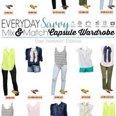 4.19 Capsule Wardrobe - Gap Summer Edition VERTICAL