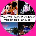 Enter to Win a Walt Disney World Vacation