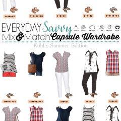 5.17 Capsule Wardrobe - Kohl's Summer Edition VERTICAL