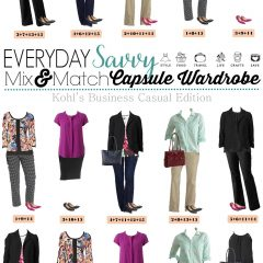 5.2 Capsule Wardrobe - Kohls Business Casual Edition VERTICAL