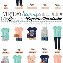 5.2 Capsule Wardrobe - Target Girls' Summer Edition VERTICAL