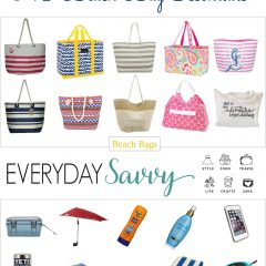 5.9 Amazon Round Up Beach Bags and Essentials