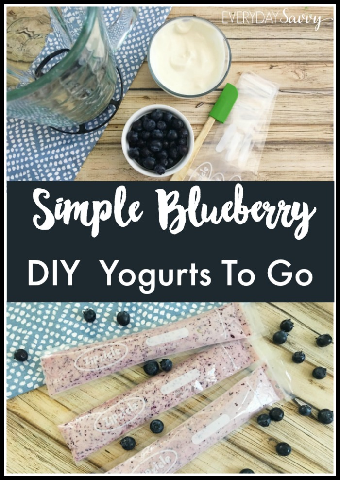 These homemade yogurt tubes are great snacks & perfect for packing for school lunches. Simple & easy to make. No added sugar or artificial colors & flavors