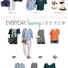 5.24 Packing Light Fashion Board - Old Navy Summer VERTICAL