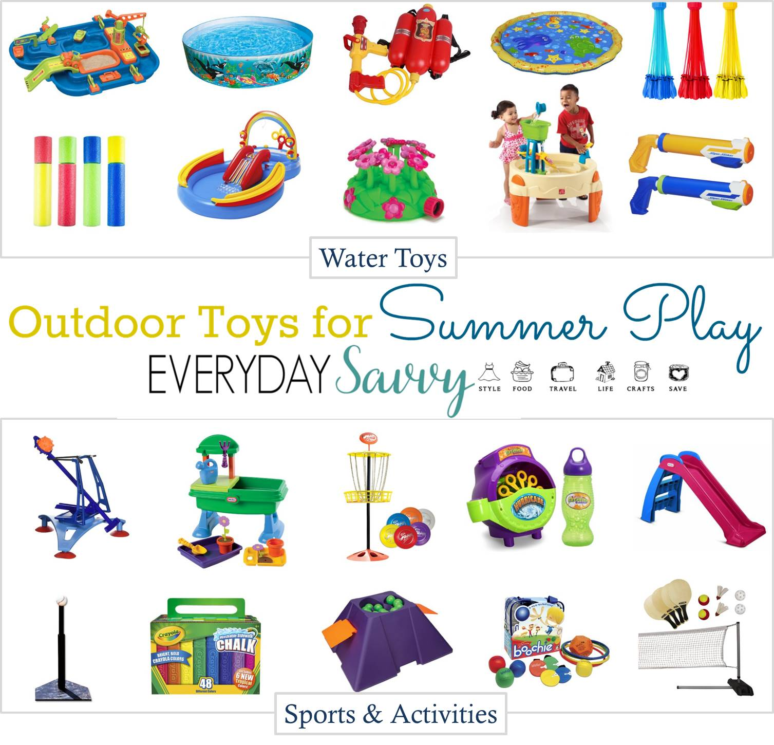 Toys For Summer : Fun outside toys for kids