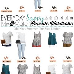 6.14 Capsule Wardrobe - Old Navy Summer Plus Size Edition VERTICAL