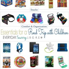 6.2 Round Up - Essentials for a Road Trip with Children IMAGE