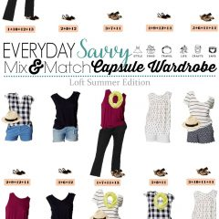 6.7 Capsule Wardrobe - Loft Summer Edition VERTICAL