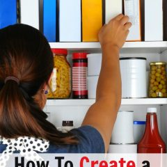 how to create a meal planning pantry