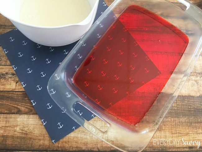 Looking for a fun red white and blue jello recipe. This is it. These jello stars will be the hit of any patriotic party including Fourth of July.