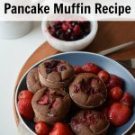 Strawberry Chocolate Pancake Muffins Recipe