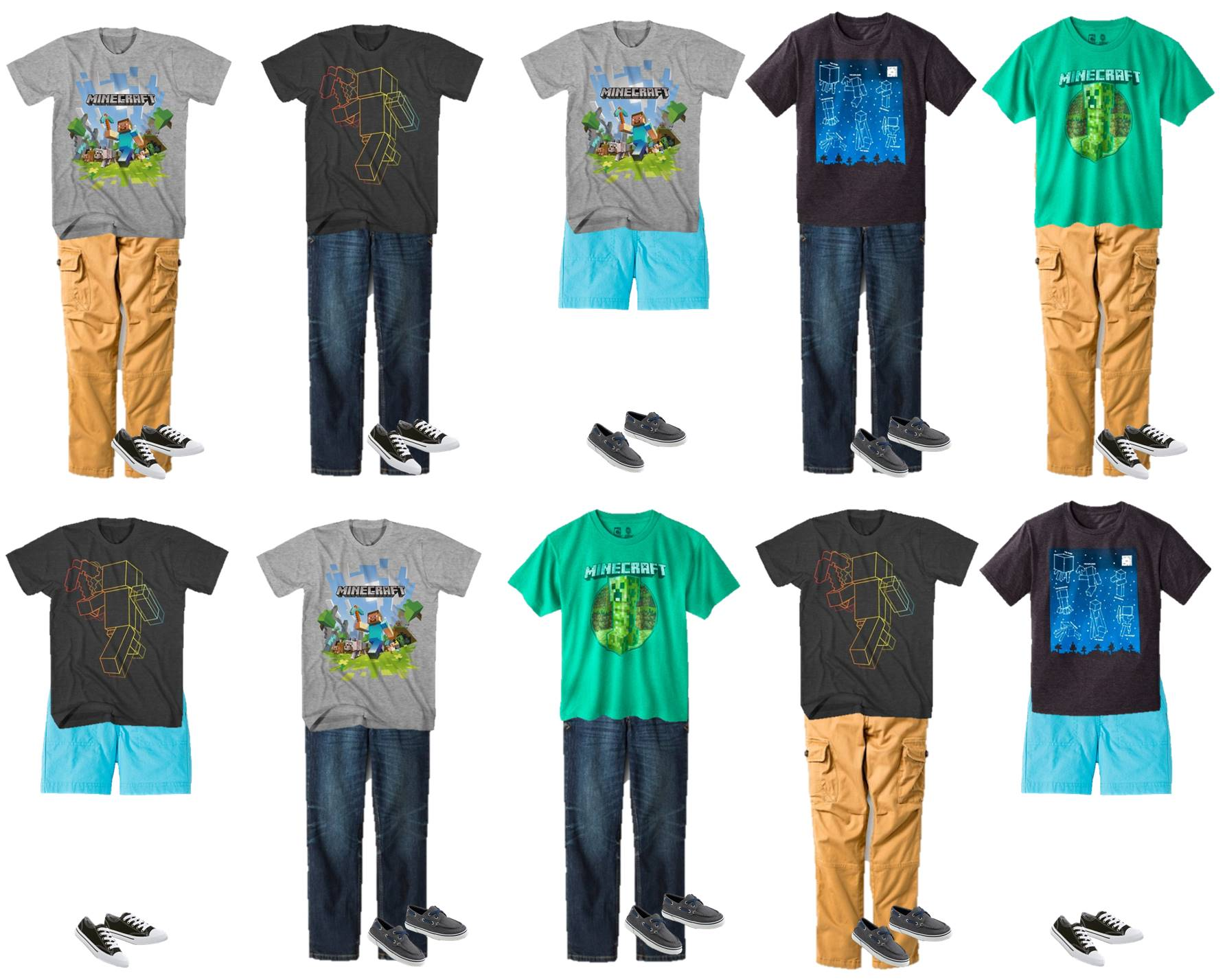 Minecraft clothes store