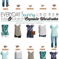 7.9 Capsule Wardrobe - JCPenney Summer Edition VERTICAL