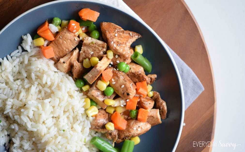 Check out this yummy and easy Kung Pao Chicken Recipe. Sure to be a family favorite. Like it spicy? You can add some sriracha sauce to spice things up.