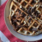 Chocolate Almond Gluten Free Waffle Recipe