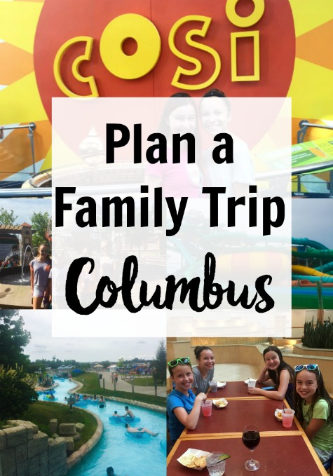 Here are some great Family Vacation Ideas for Columbus Ohio. We had a great time visiting Columbus with teens and tweens. See our 2 day Columbus Itinerary. We visited COSI, Easton Town Center, Columbus Zoo & Zoombezi Bay. See why we wished we had more time since there is so much to do in Columbus.