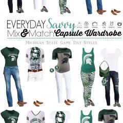 7.30 Mix & Match Game Day Fashion - Michigan State VERTICAL