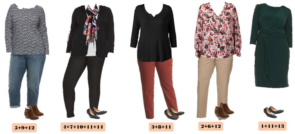 9.27 Capsule Wardrobe - Plus Size Fall Kohls 1-5