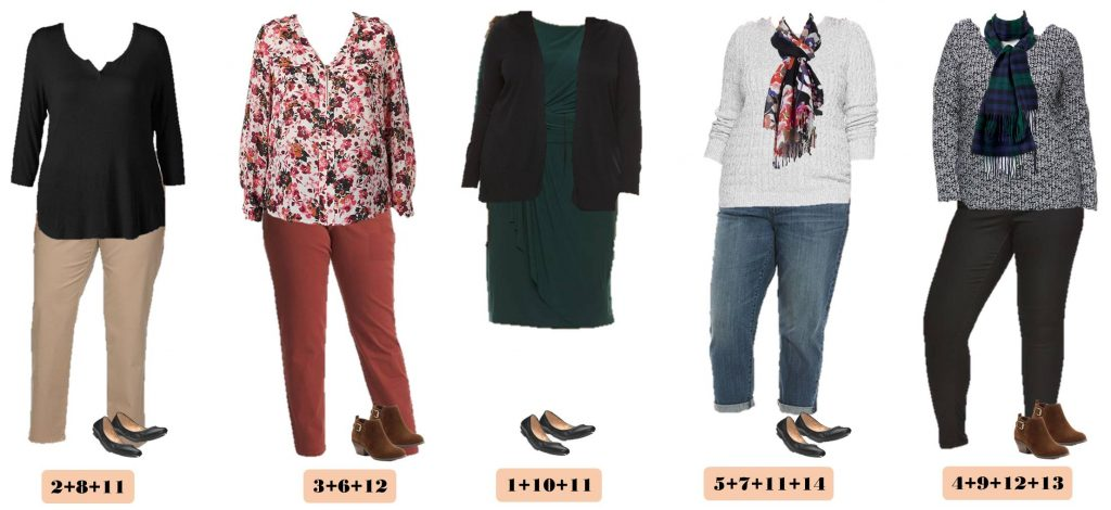 9.27 Capsule Wardrobe - Plus Size Fall Kohls 11-15