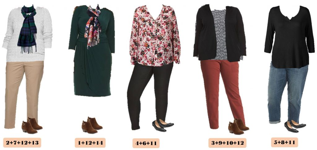 9.27 Capsule Wardrobe - Plus Size Fall Kohls 6-10